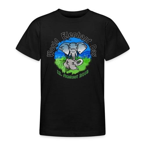 World Elephant Day 2018 - Teenager T-Shirt