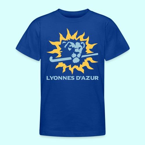 Lyonnes d azur 2 couleurs - T-shirt Ado