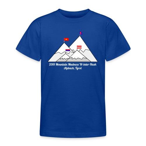 2018 W inter hash logo - Teenage T-Shirt