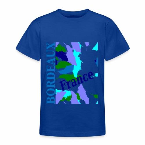 Bordeaux - New design - Teenage T-Shirt