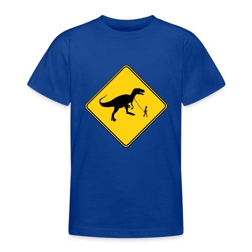 Danger T-Rex Boy - Teenage T-Shirt