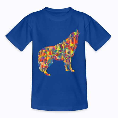 howling colorful - Teenage T-Shirt
