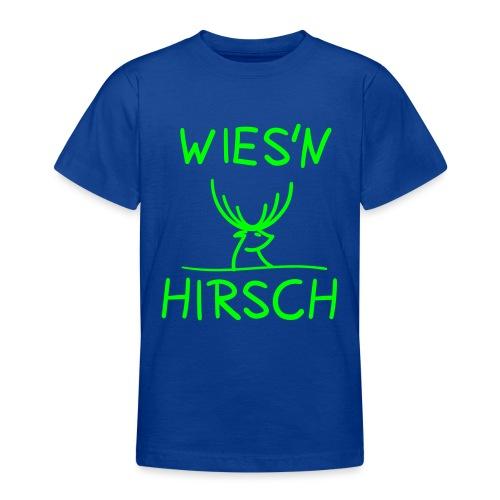 Wiesn Hirsch! Oktoberfest - Teenager T-Shirt