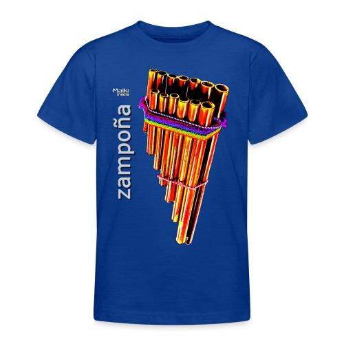 Zampoña clara - Camiseta adolescente