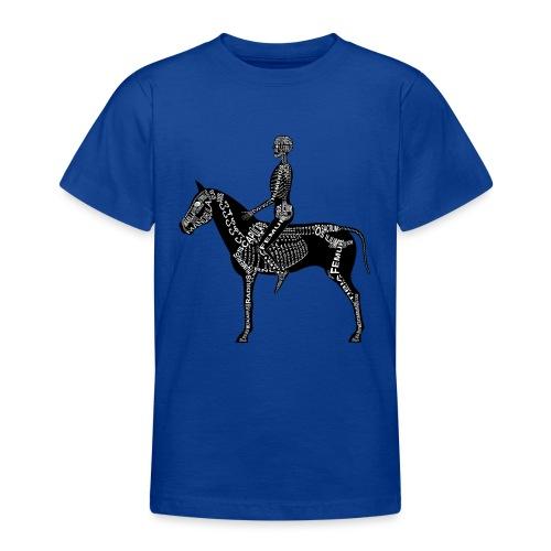 Reiter-Skelett - Teenage T-Shirt