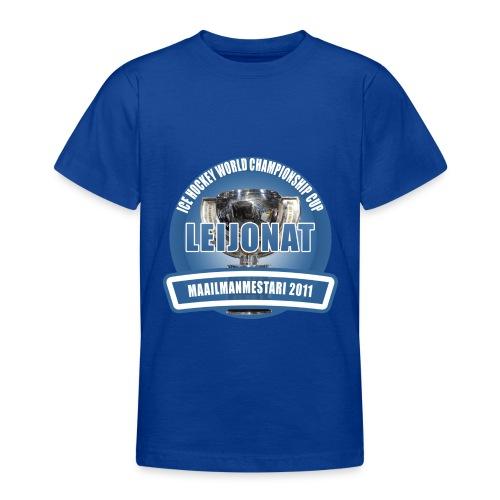 icehockeyworldchampionshipcup2011 - Nuorten t-paita