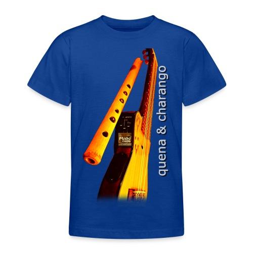 Quena y Charango II - Camiseta adolescente