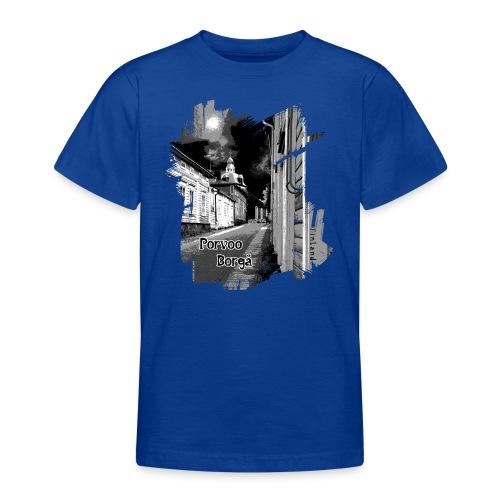 Porvoo vanhakaupunki - Tekstiili- ja lahjatuotteet - Nuorten t-paita
