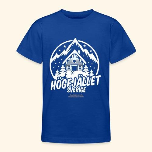 Sverige Ski Resort Sälen Hogfjället - Teenager T-Shirt