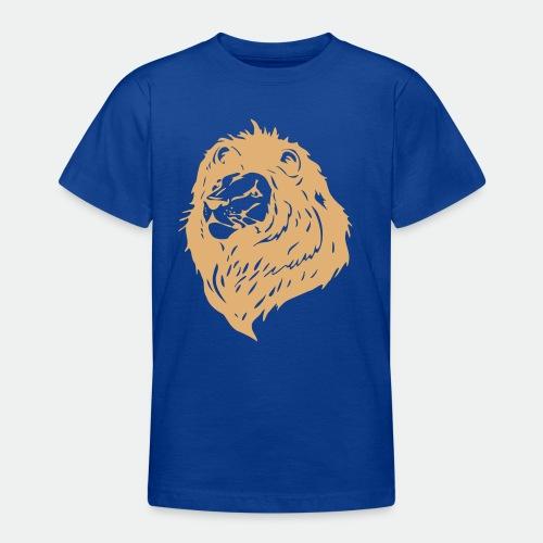 Proud lion black mane - Teenage T-Shirt