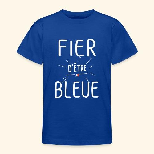 Football féminin Fier d'être bleue - Homme - T-shirt Ado