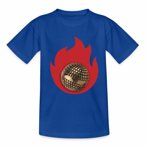 petanque fire - T-shirt Ado