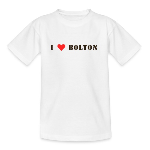 lovebolton - Teenage T-Shirt