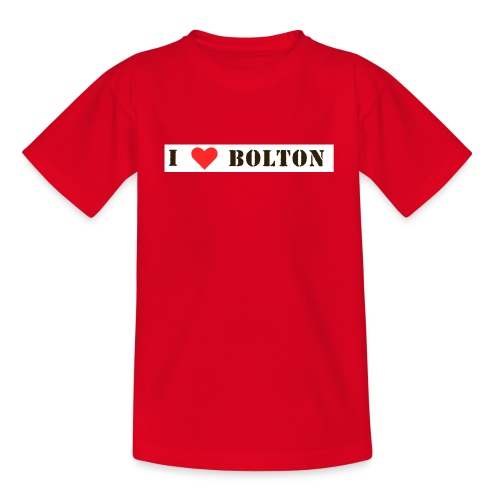lovebolton - Teenage T-Shirt