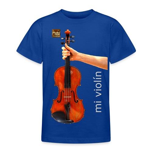MI violín - Camiseta adolescente