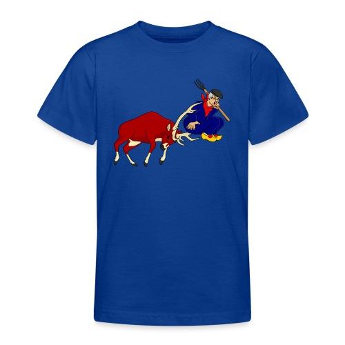 hert vs boer - Teenager T-shirt