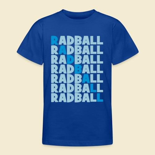 Radball   Diagonal - Teenager T-Shirt