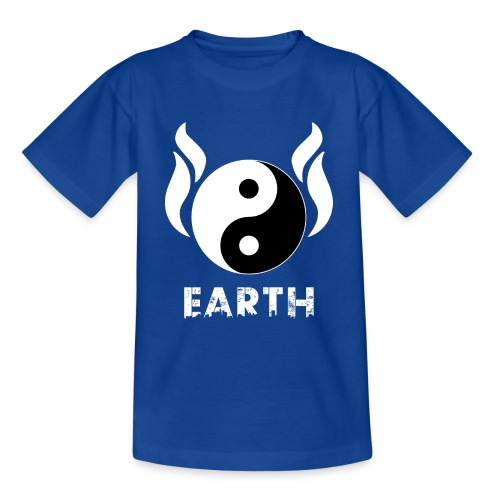 YIN YANG EARTH - Teenager T-Shirt