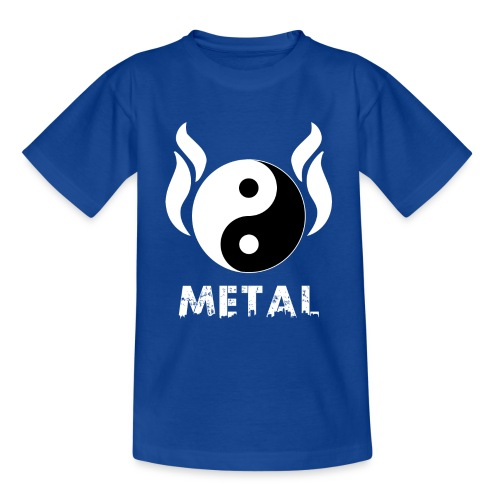 YIN YANG METAL - Teenager T-Shirt