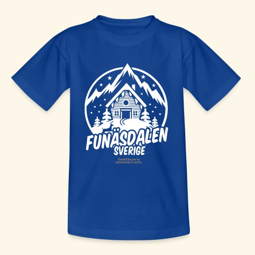 Funäsdalen Sverige Ski Resort T Shirt Design - Teenager T-Shirt