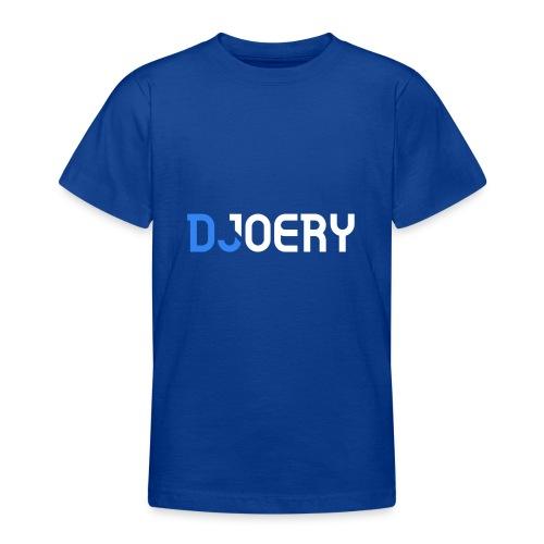 logo transparantbg whitetext noslogan - Teenager T-shirt