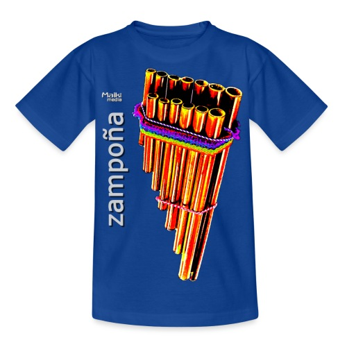 Zampoña clara - Teenage T-Shirt