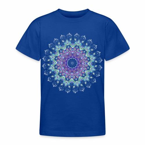 Lilla mandala pastel - Teenager-T-shirt