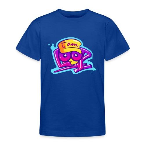 Graffiti I AM LOOP - Teenager T-Shirt