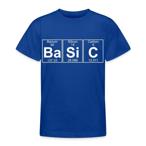 Ba-Si-C (basic) - Full - Teenage T-Shirt