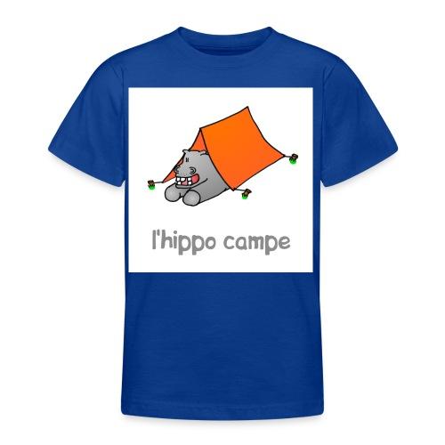 hippo campe - T-shirt Ado