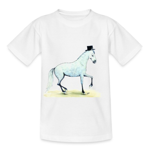 dressur cmyk - Teenager T-Shirt