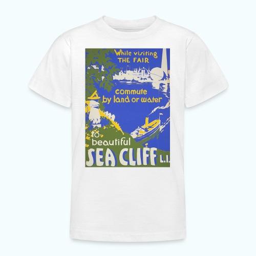 Lake travel vintage poster - Teenage T-Shirt