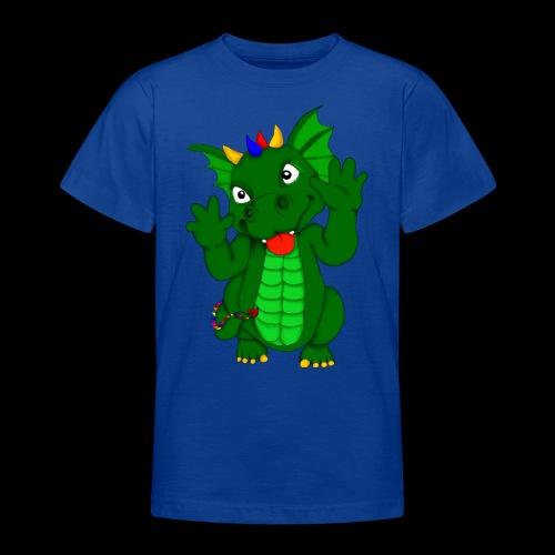 Drache Frechdachs - Teenager T-Shirt