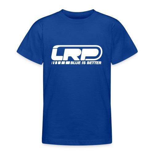 LRP Firmenlogo - Blue is better - White - Teenager T-Shirt