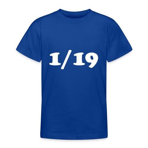 1/19 - Nuorten t-paita