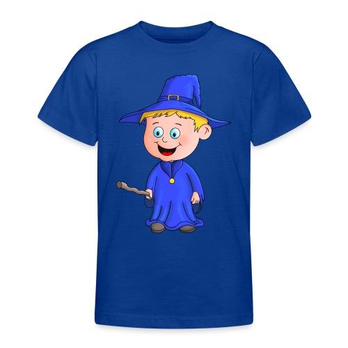 Kleiner Zauberer liebt die Zauberei - Teenager T-Shirt
