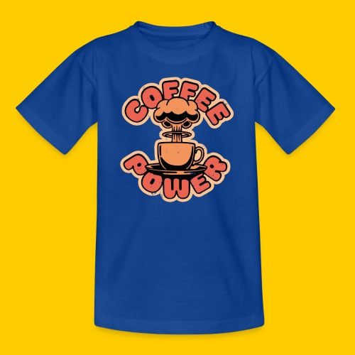 Coffee power - T-shirt tonåring