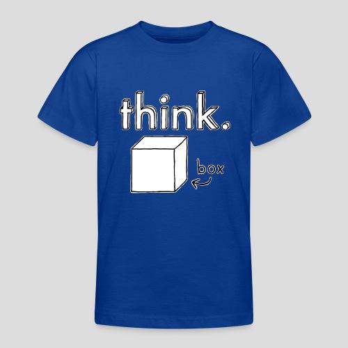 Think Outside The Box Illustration - Teenage T-Shirt