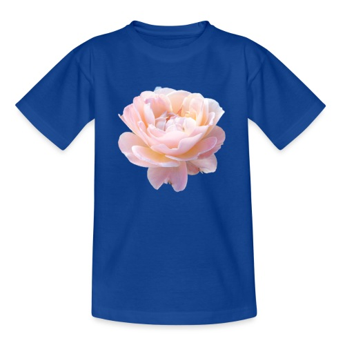 A pink flower - Teenage T-Shirt
