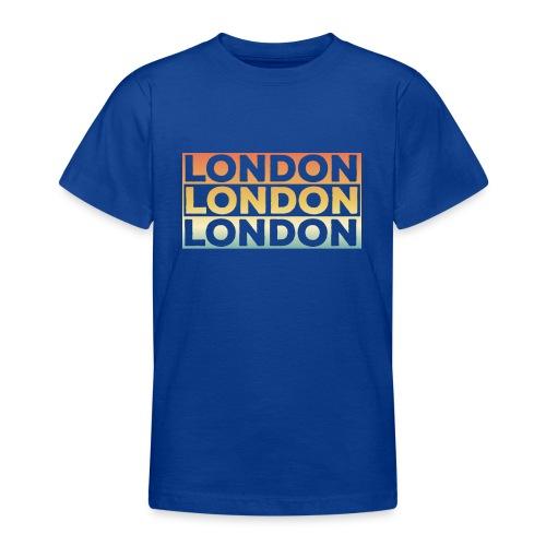 Vintage London Souvenir - Retro SehnsuchtLondon - Teenager T-Shirt