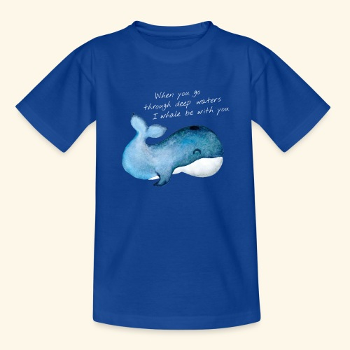 Whale deep waters - Teenager T-Shirt