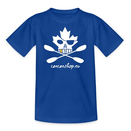 Maple_Pirate_20_weiss - Teenager T-Shirt