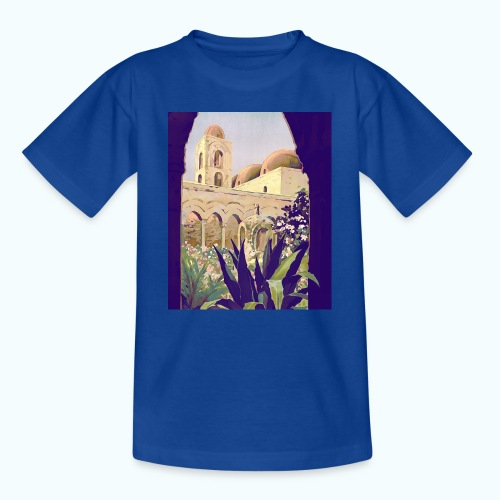 Palermo Vintage Travel Poster - Teenage T-Shirt