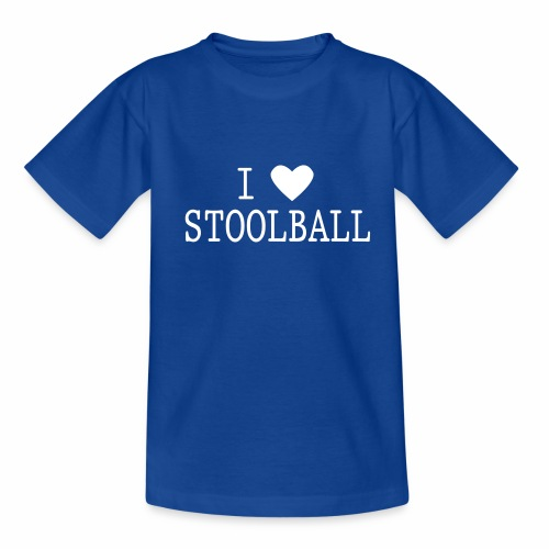 I Love Stoolball - Teenage T-Shirt