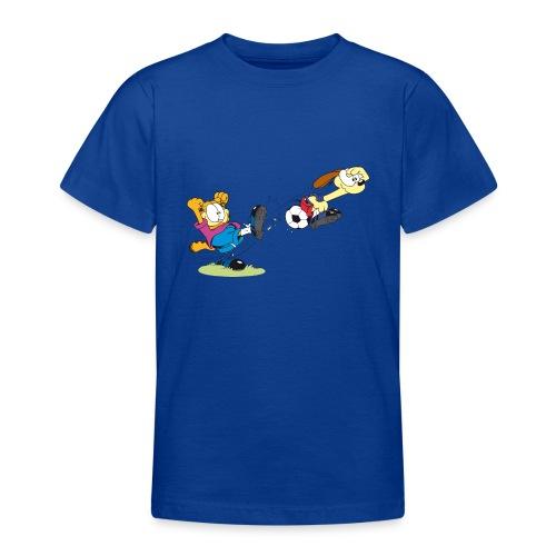 Garfield Odie Soccer Ball - Teenager T-Shirt