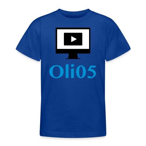 Oli05 Original logo - T-skjorte for tenåringer