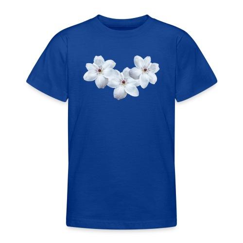 Jalokärhöt, valkoinen - Nuorten t-paita