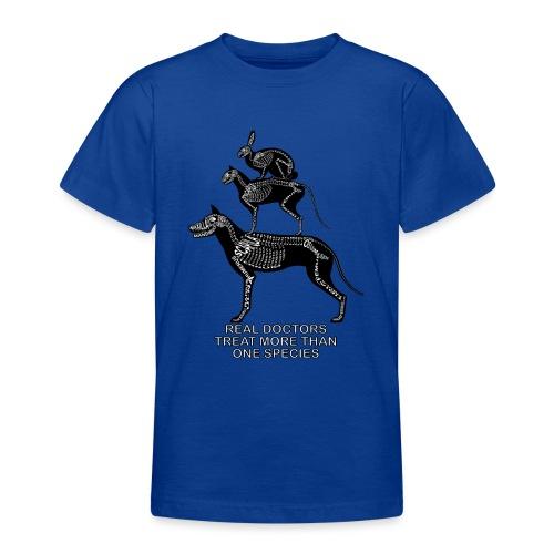 Doctores de verdad ... mascotas - Camiseta adolescente