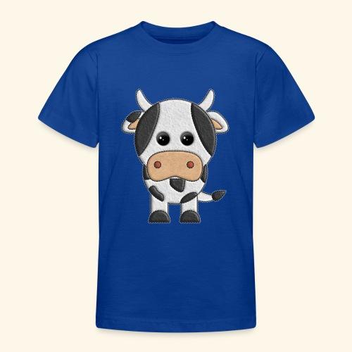 vaquita de peluche vaca cow - Camiseta adolescente