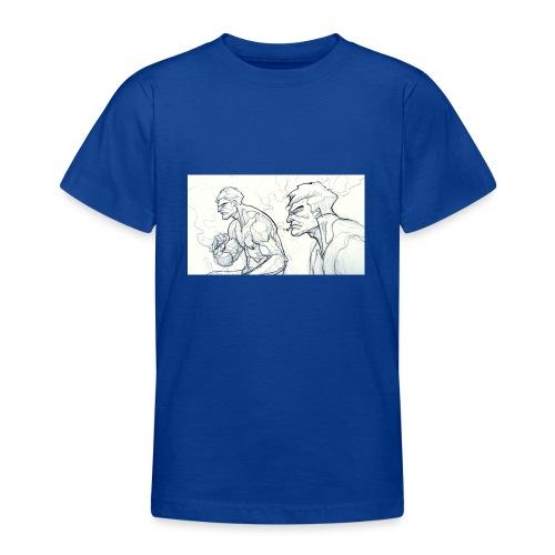 Drawing_1-jpg - Teenage T-Shirt